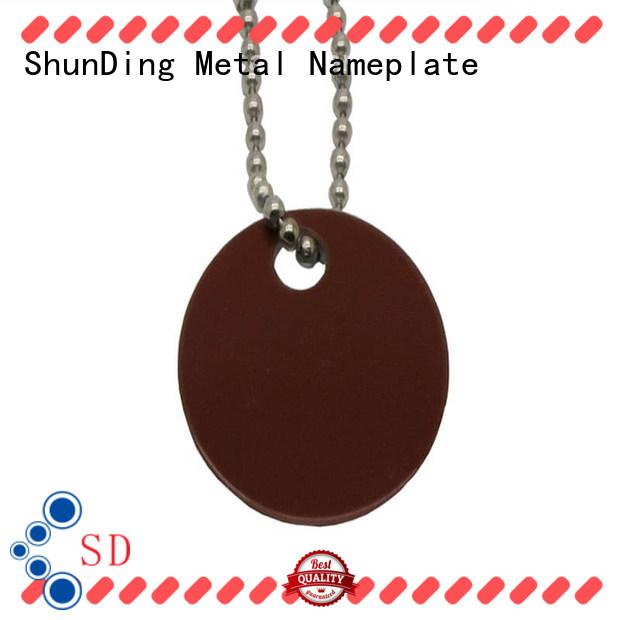 ShunDing dog asset tag price for commendation
