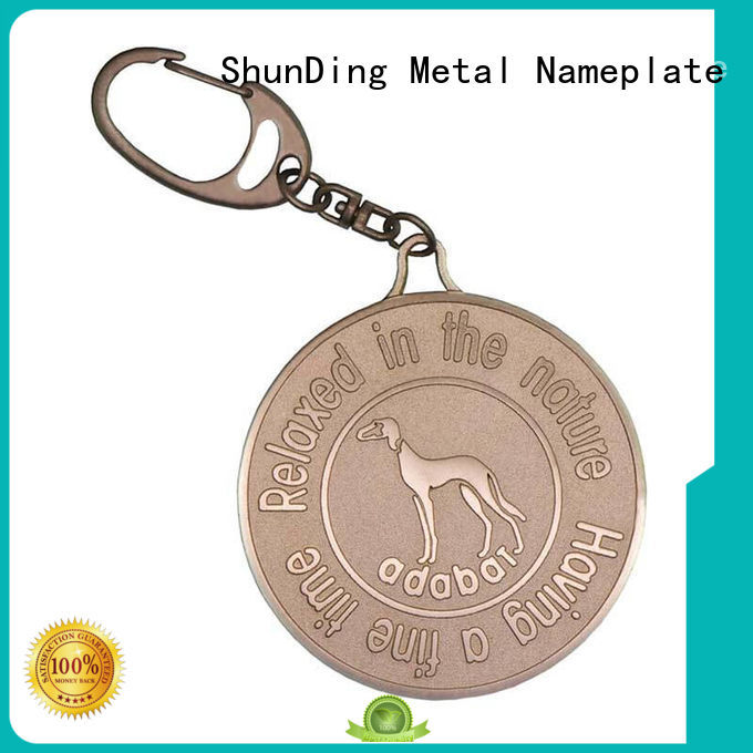 hang asset tag marketing for activist ShunDing