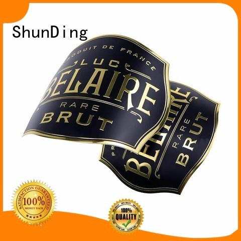 ShunDing new-arrival metal label factory price for commendation