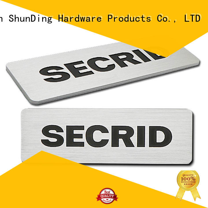 durable engraved name plates colorful by Chinese manufaturer for meeting