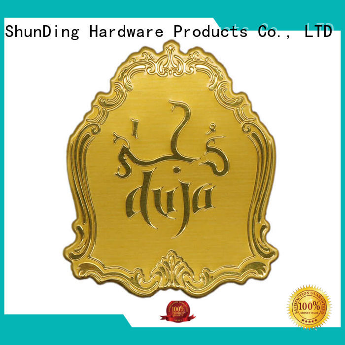 ShunDing nickel metal plate sticker inquire now for activist