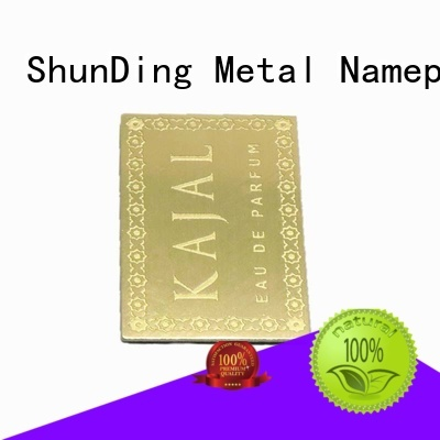 quality best metal labels anodized factory price for auction