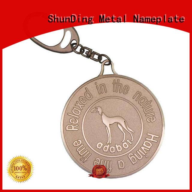 ShunDing inexpensive custom metal tags diamondcutting for staff