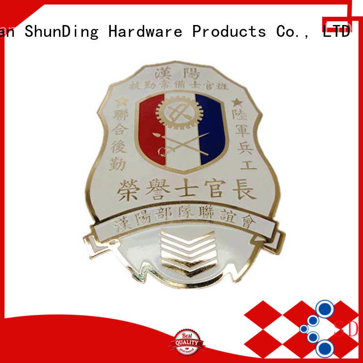 ShunDing popular metal badge manufacturers for-sale for auction
