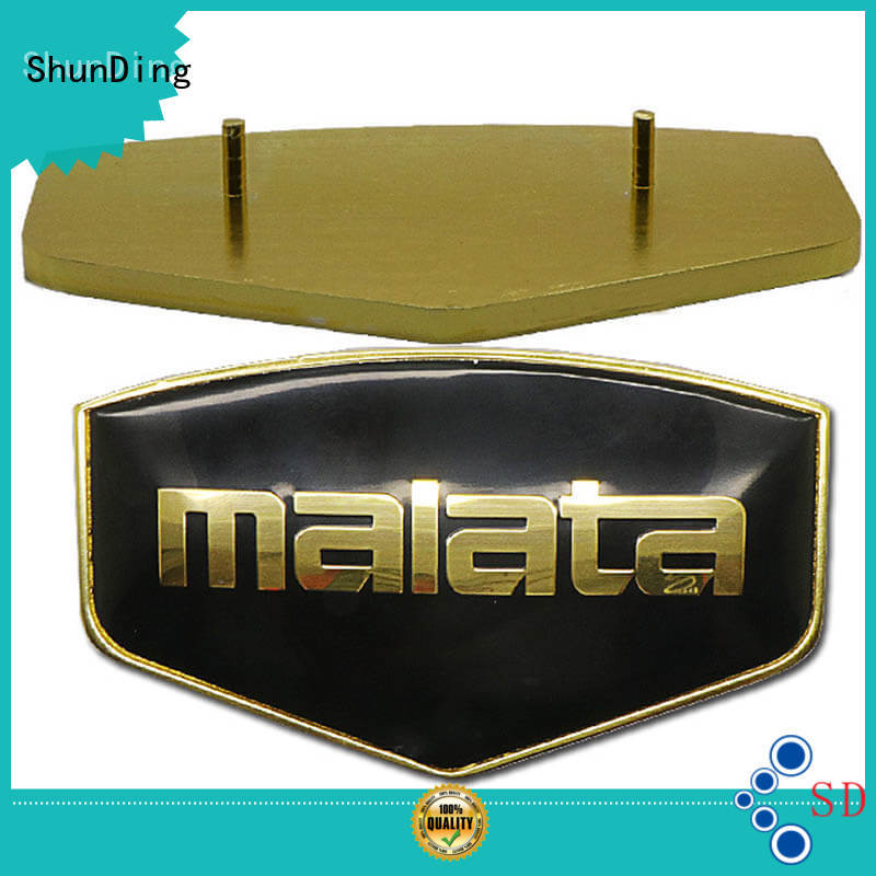 ShunDing Brand mounting private exquisite metal name plate