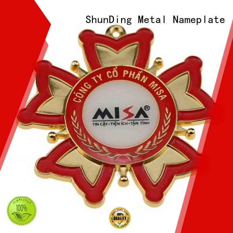 ShunDing badge police badge metal owner for auction