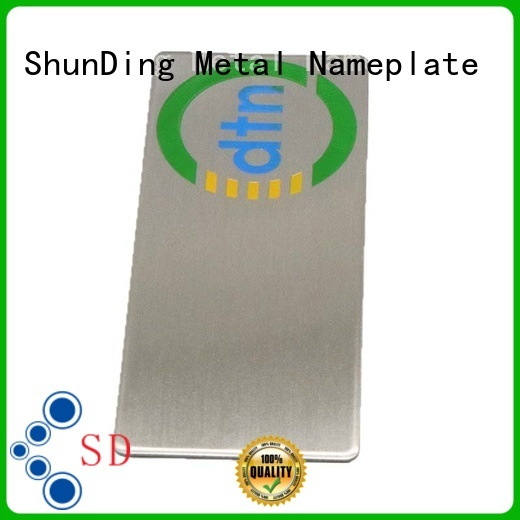 custom barcode labels stainless for meeting ShunDing