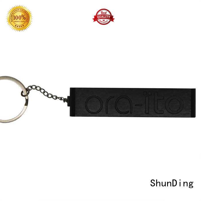 Quality ShunDing Brand metal dog tags aluminum black