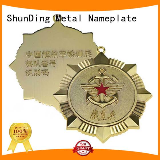 popular metal logo badge lovely supplier for activist