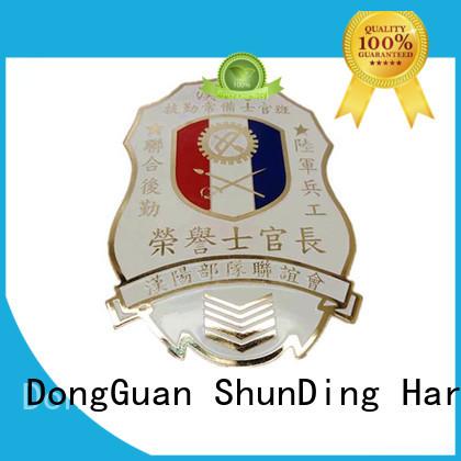 resin metal badge souvenir pin ShunDing company