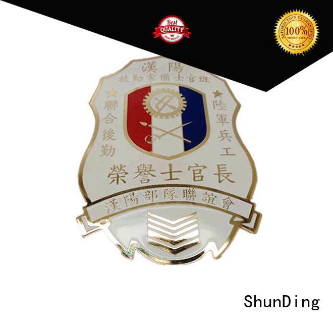 make custom metal medal supplier for staff ShunDing
