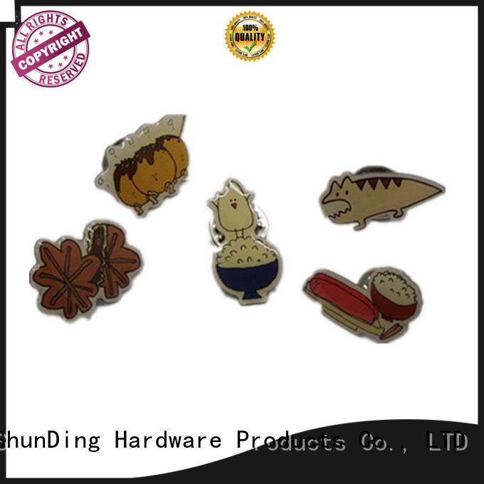 medal souvenir fancy ShunDing Brand metal badge supplier