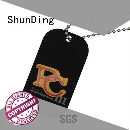 beaded custom metal tags free quote for activist