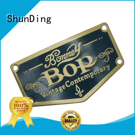 ShunDing inexpensive metal sticker with good price for meeting
