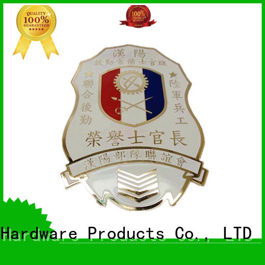 metal police badge for meeting ShunDing