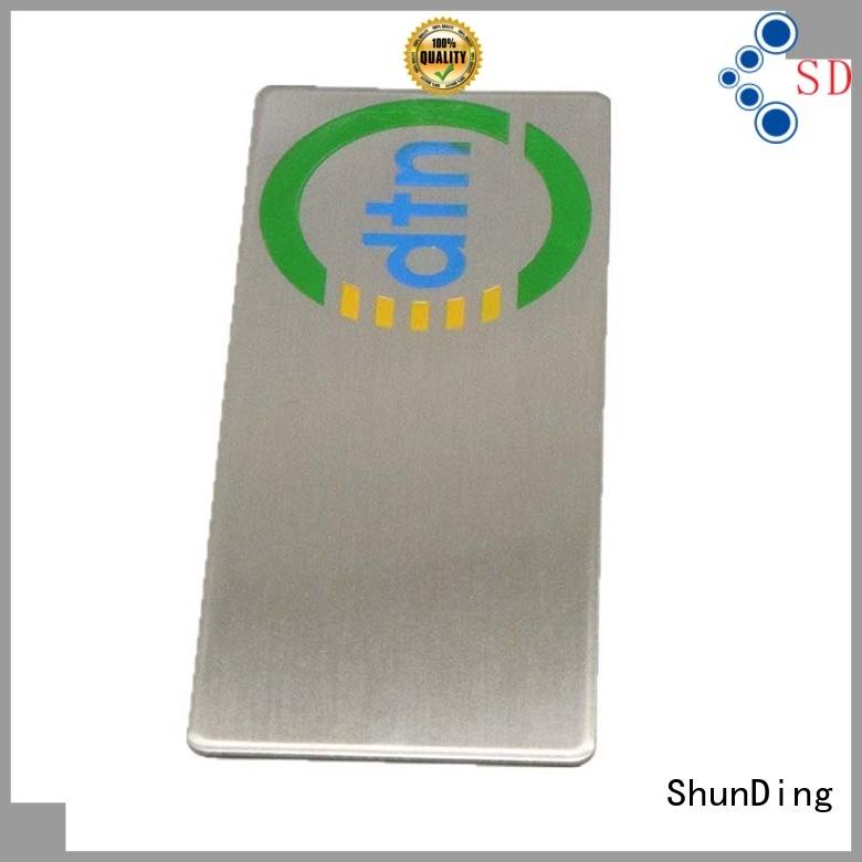ShunDing fine- quality custom metal labels order now for activist