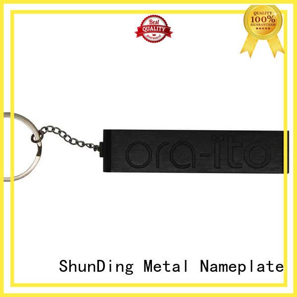 aluminum asset tag long-term-use for commendation ShunDing