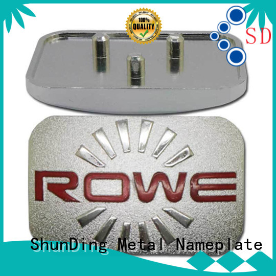 ShunDing high-quality table name plate by Chinese manufaturer for commendation