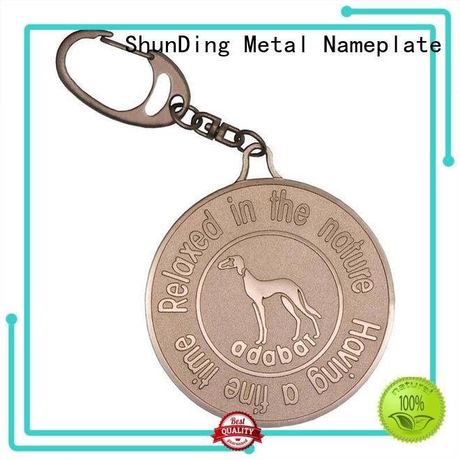 ShunDing quality metal tags open for company