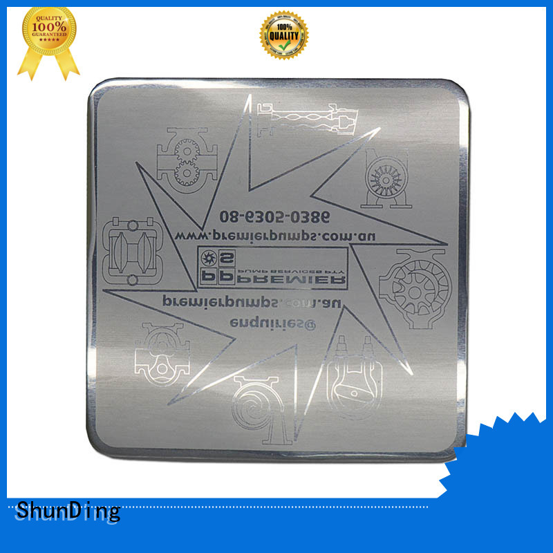 ShunDing gold nickel sticker with Quiet Stable Motor for commendation