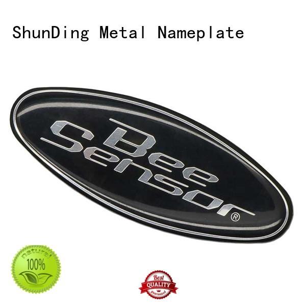 metal plate sticker domed for commendation ShunDing