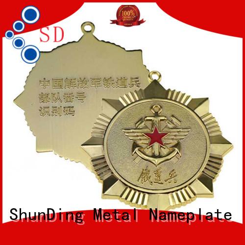 ShunDing fine- quality metal pin badges for commendation