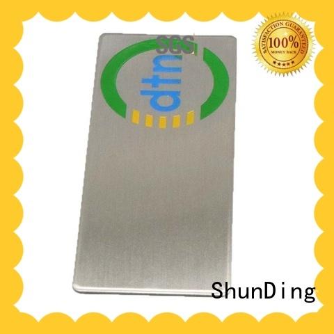 diamond barcode labels anodized for activist ShunDing