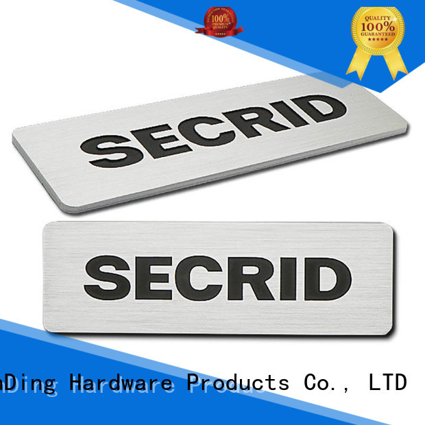 ShunDing domed engraved name plates with cheap price for identification