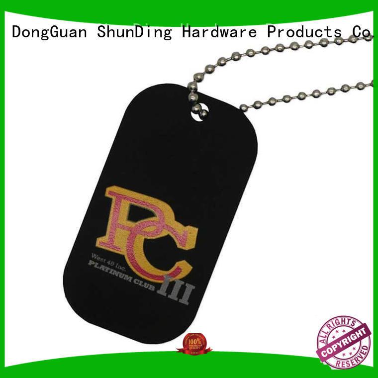 custom metal tags metal for identification ShunDing