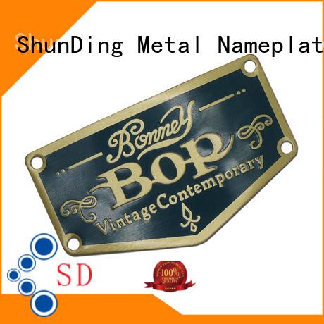 ShunDing quality aluminium sticker inquire now for souvenir