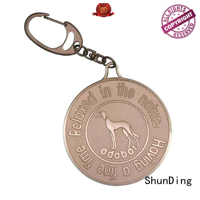 anodized color key tag printed garment ShunDing company