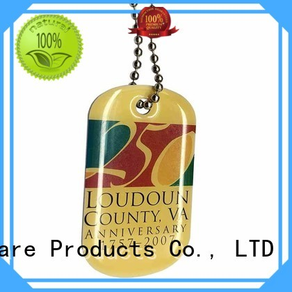 ShunDing fine- quality key tag tag for commendation