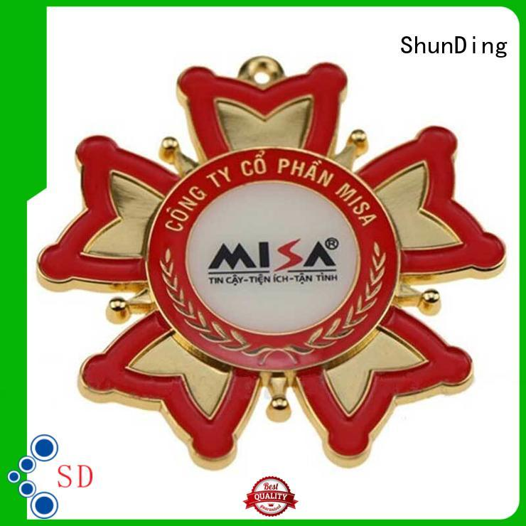 ShunDing newly table name plate by Chinese manufaturer for activist