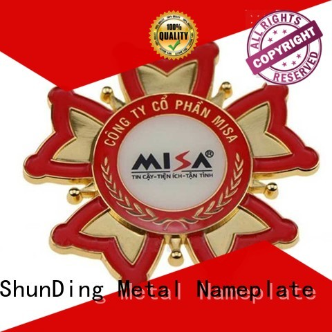 ShunDing customized stainless steel sticker by Chinese manufaturer for meeting