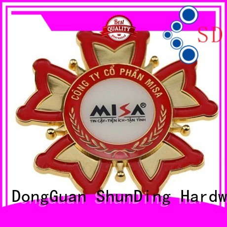 ShunDing high-quality personalized name plates with cheap price for commendation