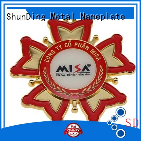 popular aluminium sticker stainless with cheap price for identification