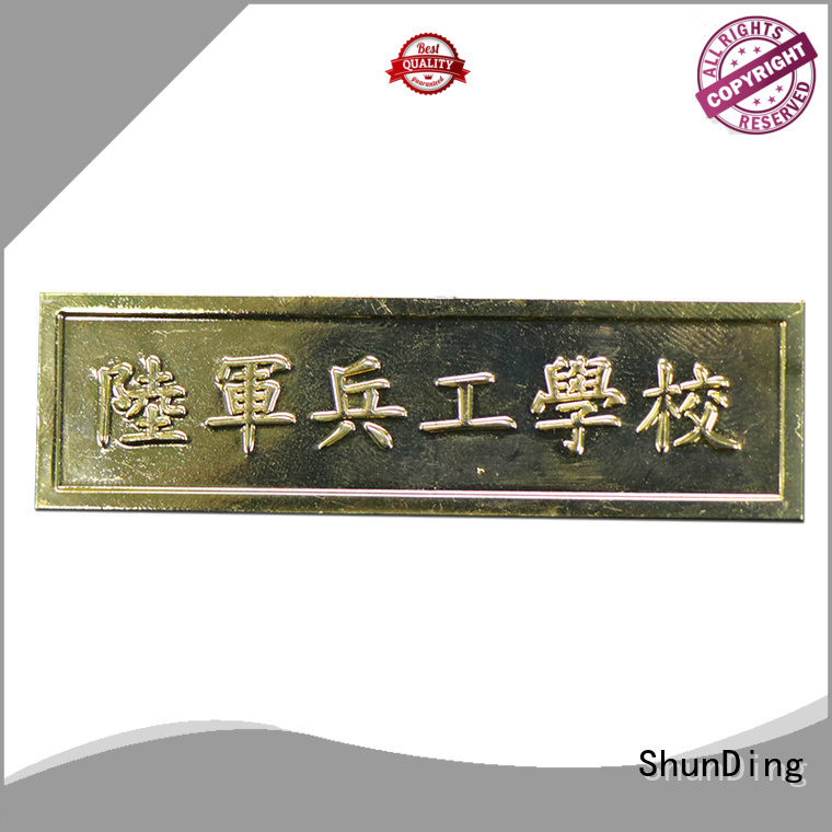 ShunDing quality custom name tags by Chinese manufaturer for staff