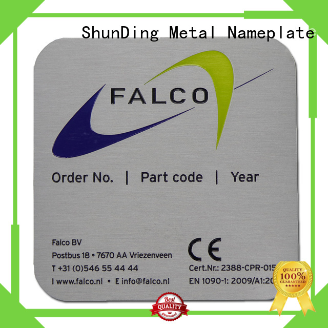 ShunDing fine- quality office door name plates from China for souvenir