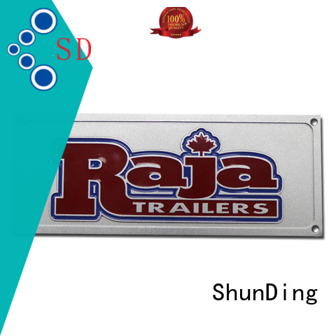 ShunDing car door name plates inquire now for staff