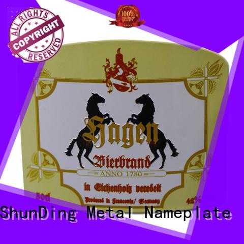 ShunDing round barcode label bulk production for meeting