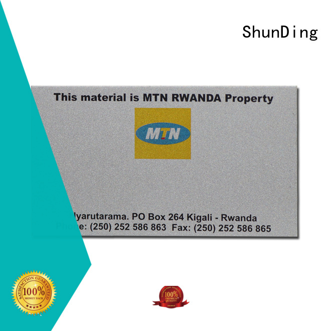 ShunDing gold name plaques with cheap price for commendation