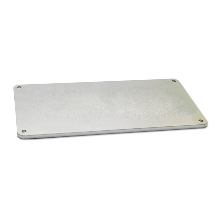 Anti-UV anodized metal name plates SD-N00017-6