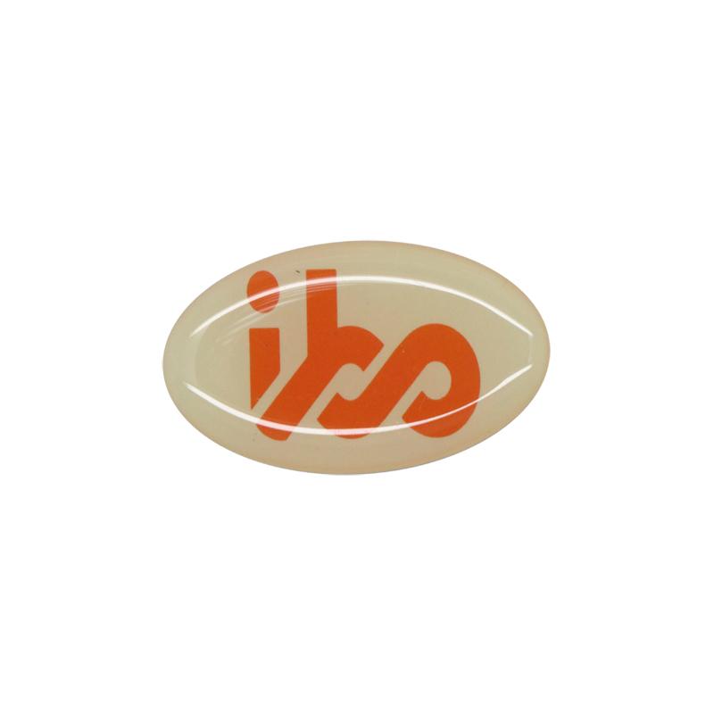 Clear dome epoxy sticker