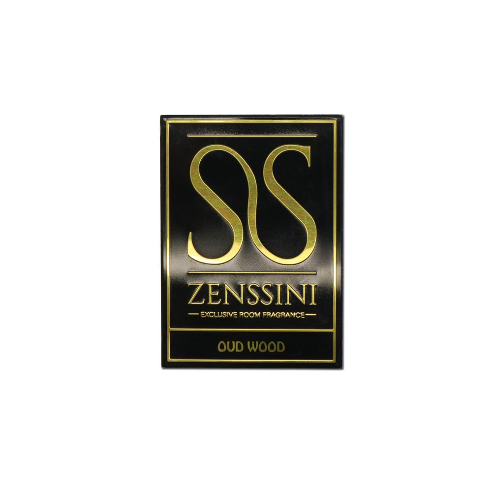 Custom perfume bottle metal label