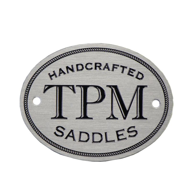 Custom stainless steel logo name plate