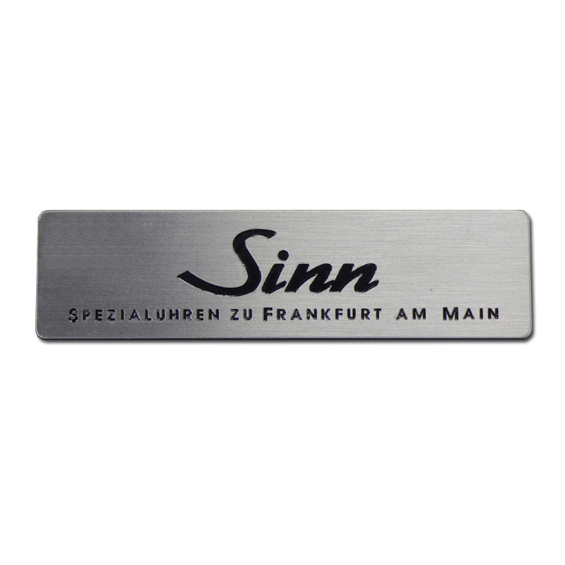 Custom Durable Etching Stainless Steel Nameplate