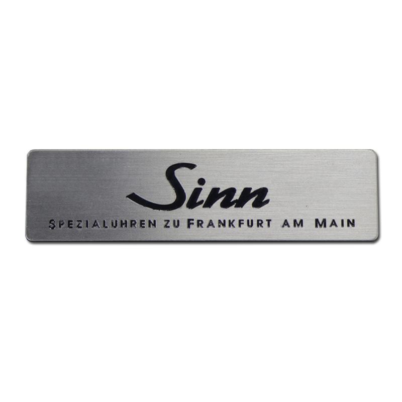 Custom Stainless Steel Nameplate