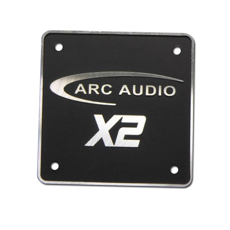 Custom Audio Aluminum Nameplate
