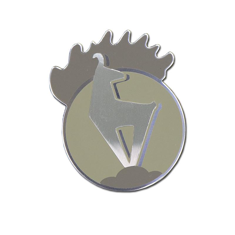 Custom Logo Stamping Metal Nameplate