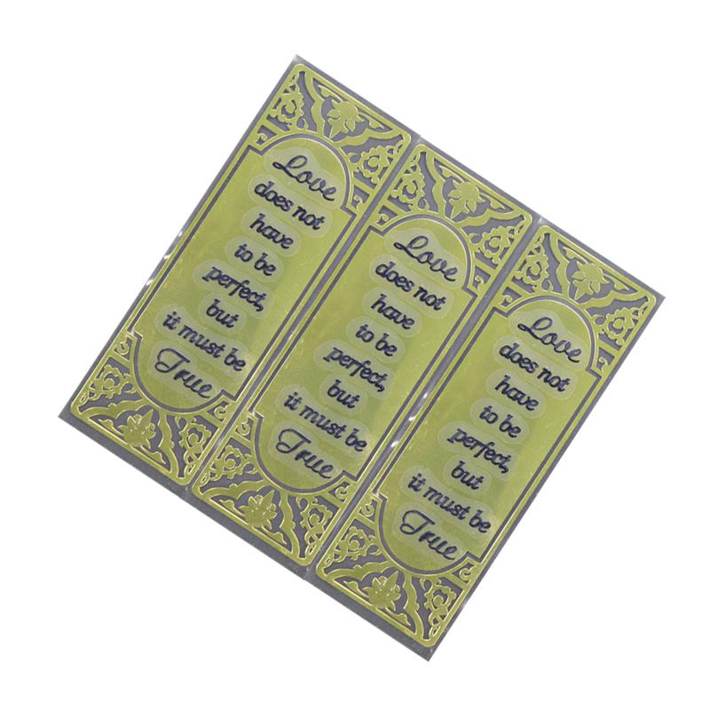 Custom Perfume Bottle Sticker